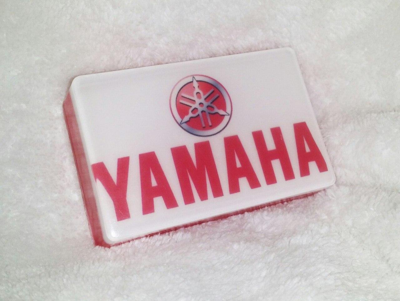Мото-мыло с логотипом Yamaha