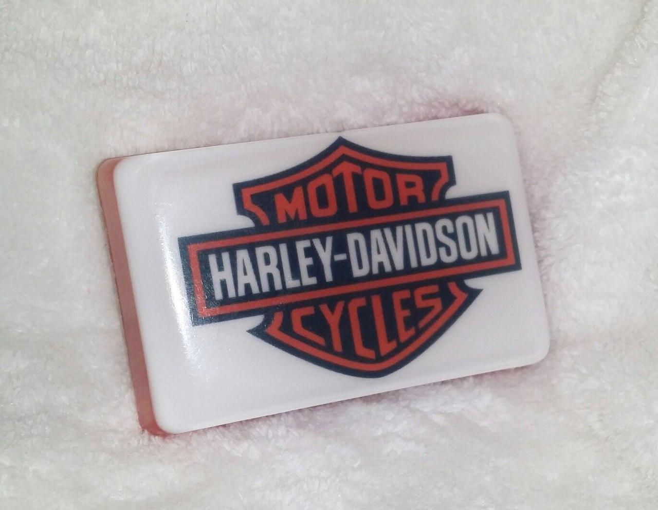 Мото-мыло с логотипом Harley-Davidson
