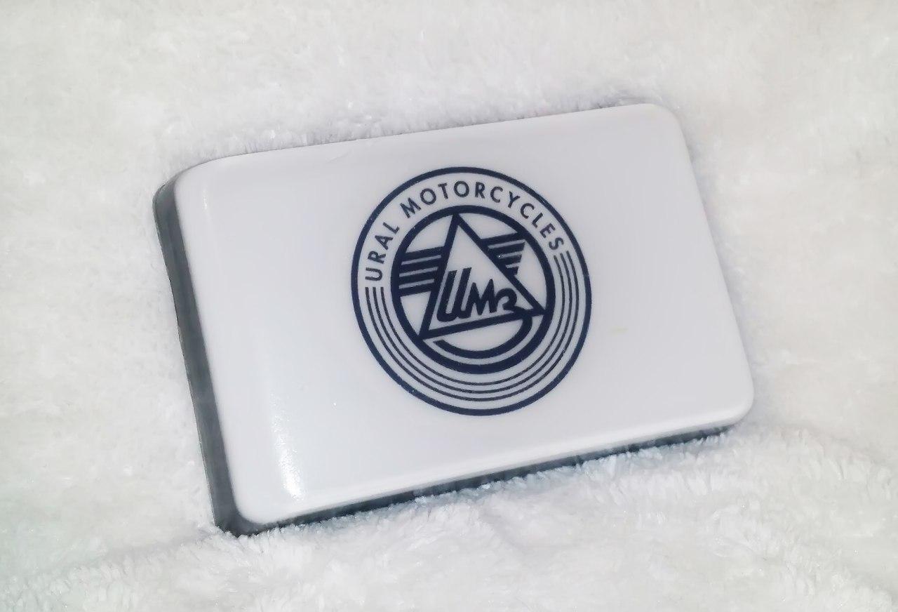 Мото-мыло с логотипом Урал