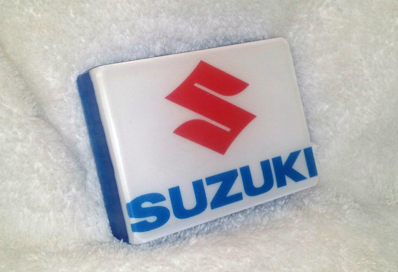 Мото-мыло с логотипом Suzuki
