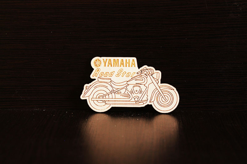 Магнит на холодильник Yamaha Road Star
