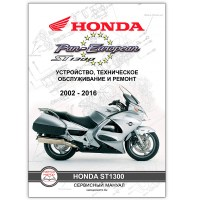 Мото Сервис Мануал HONDA ST1300 Pan European (2002-2016)