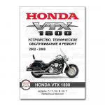 Сервисный мануал на Honda VTX1800 C/F/N/R/S/T (2002-2008)